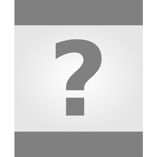 Unknown file icon vector image.