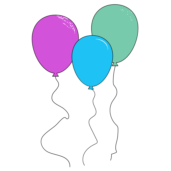 Couple of balloons