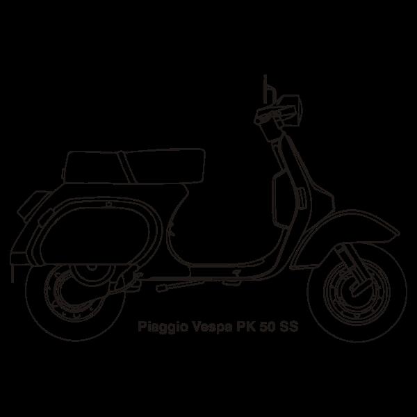 vespa pk50ss 1983