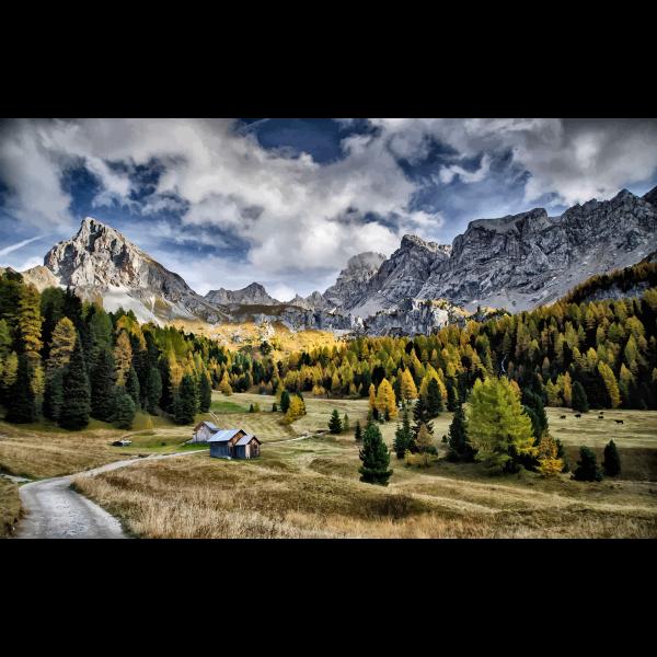 Val Di Fassa Italy