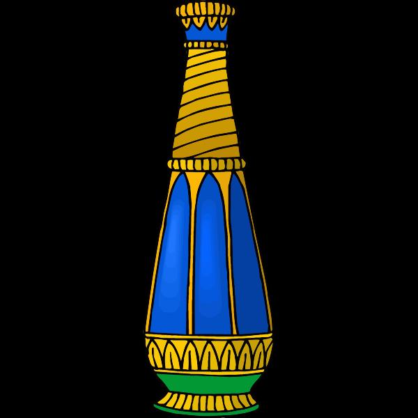 Blue vase image