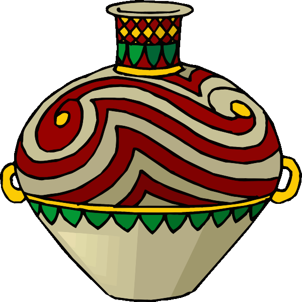 Colored jug