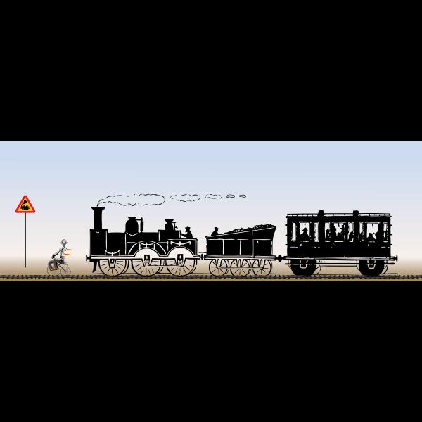 Vehicle and Train