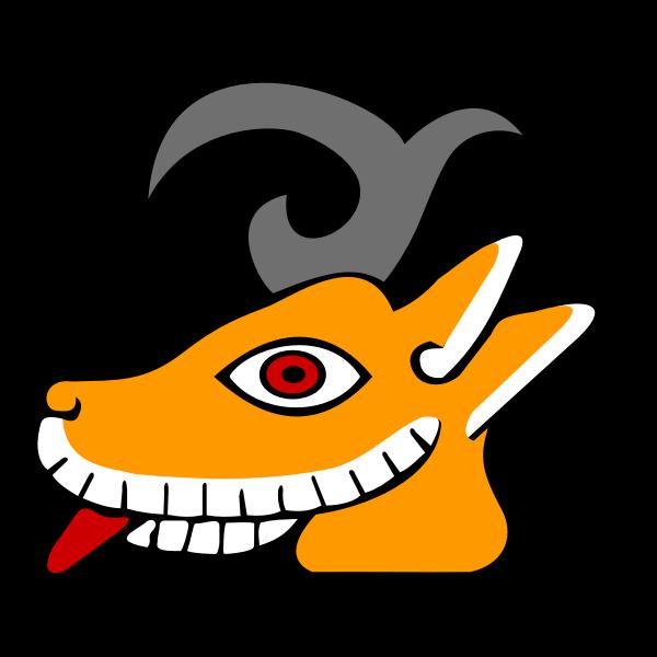 Deer's head drawing