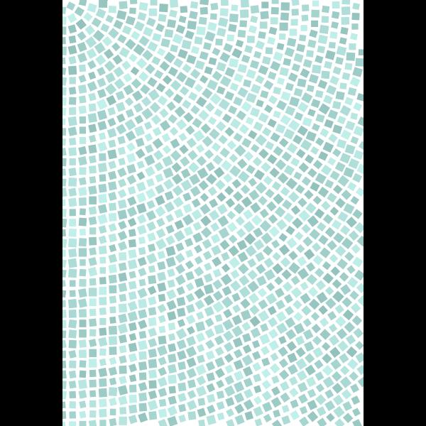 Venetian tiles radial filler with swing