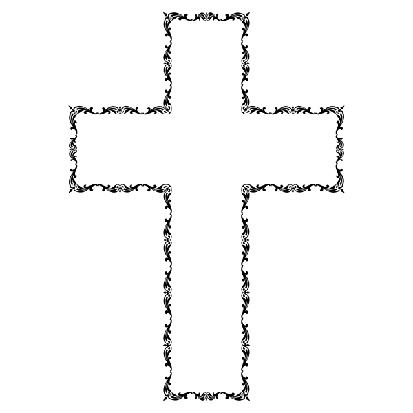 Decorative Catholic cross