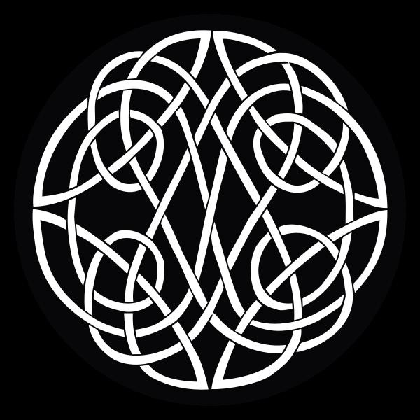 Vintage Celtic knot vector image
