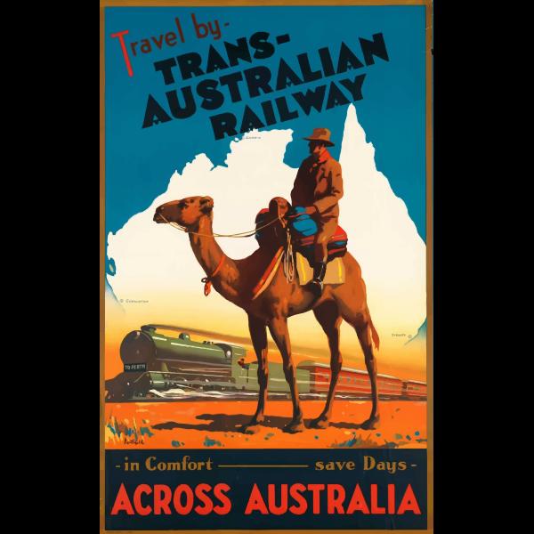 Australian railway ad