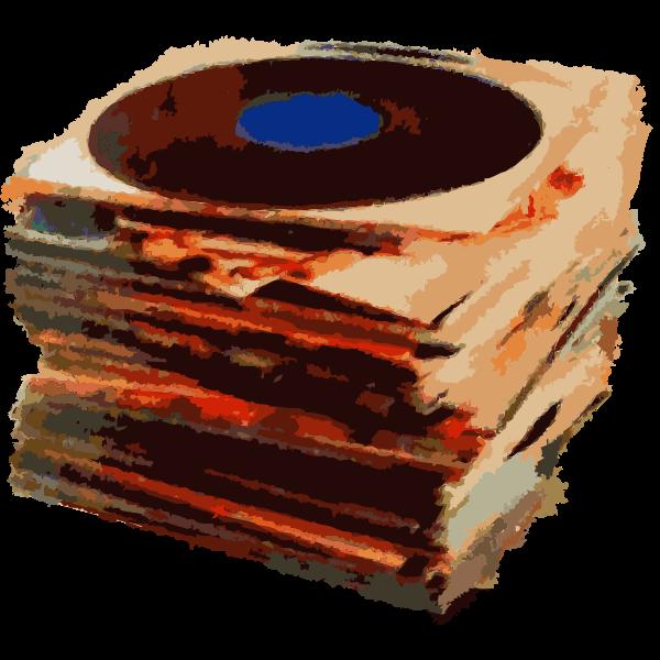 Vinyl stack remix