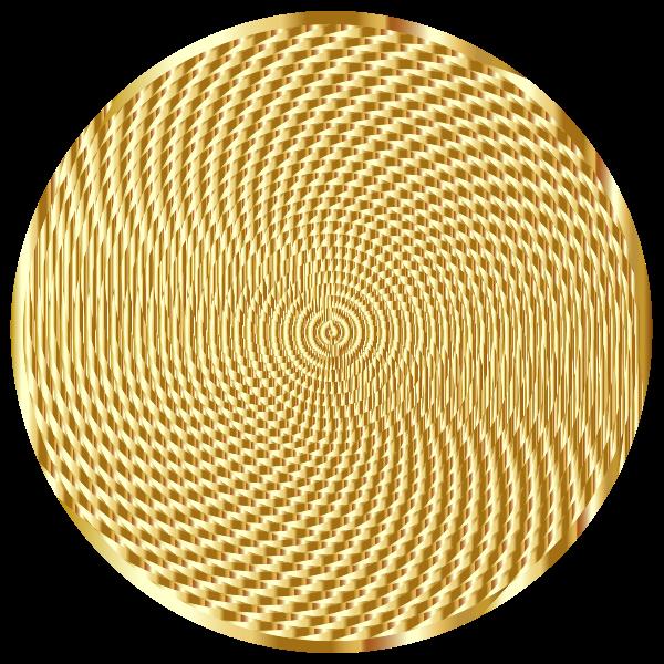 Vortex Golden Texture