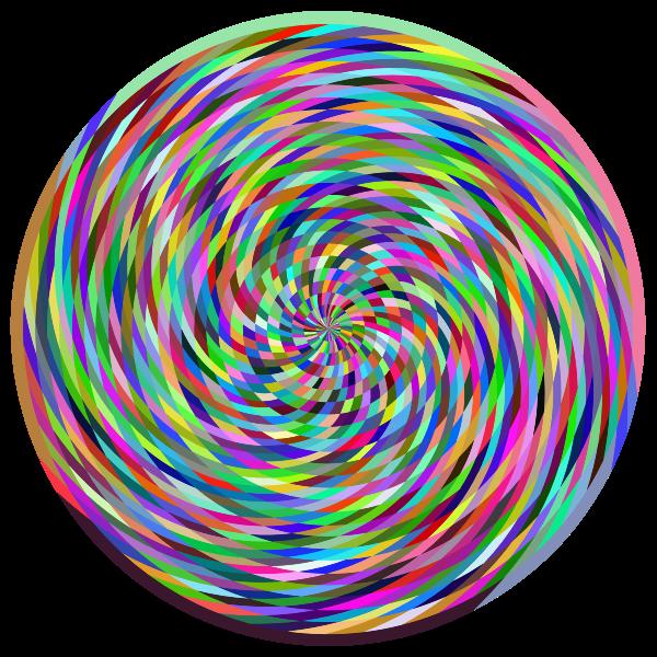 Vortex Prismatic Colored Texture