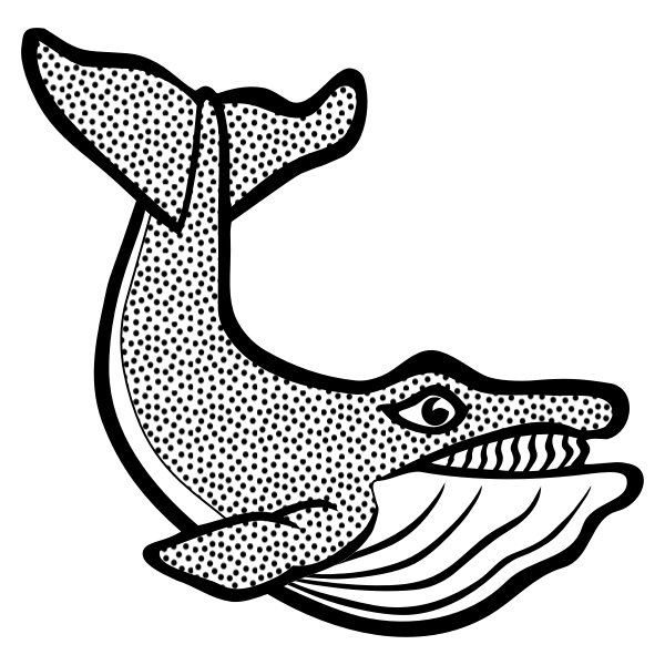 Image of spotty whale
