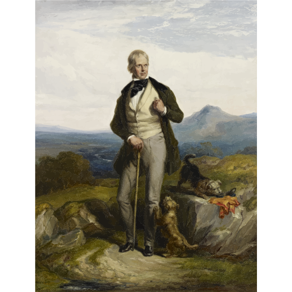 Walter Scott's portrait