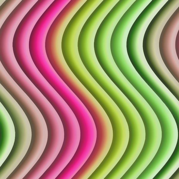 Wavy Stripes Color Background