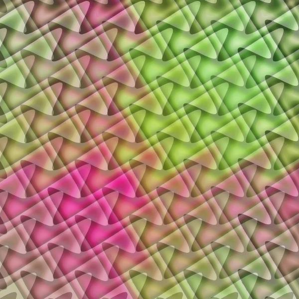 Wavy Tiles Pattern