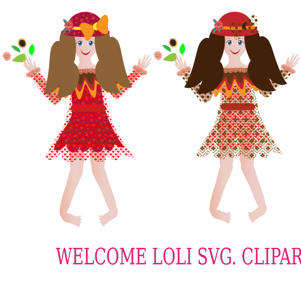Welcome Loli Cliparts