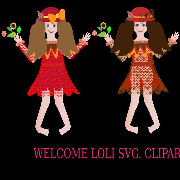 Welcome Loli Cliparts