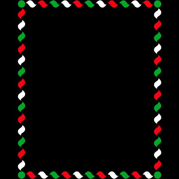 Wiggly Frame Colour
