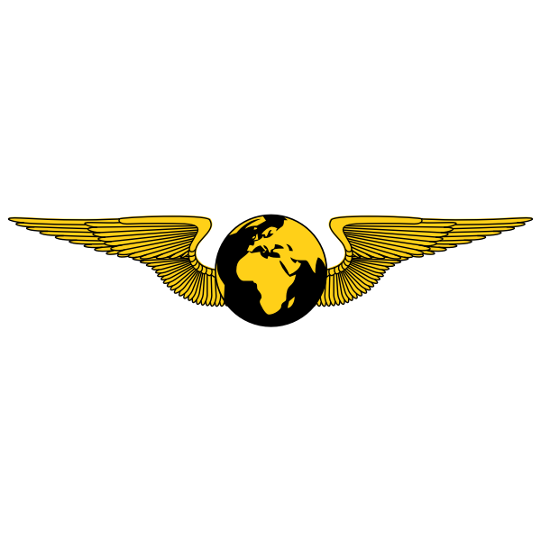 Globe emblem