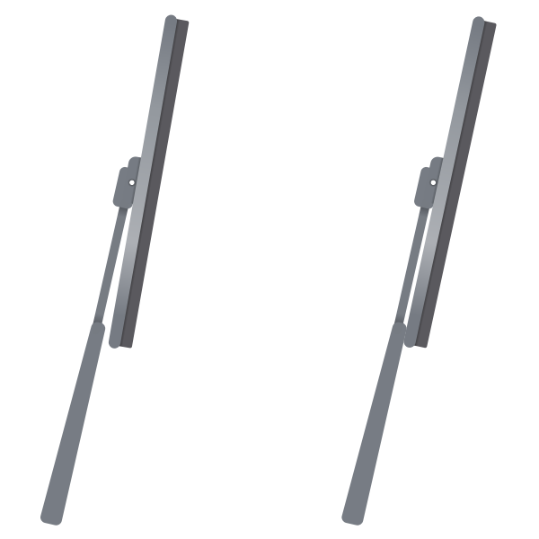 Windshield wipers vector image