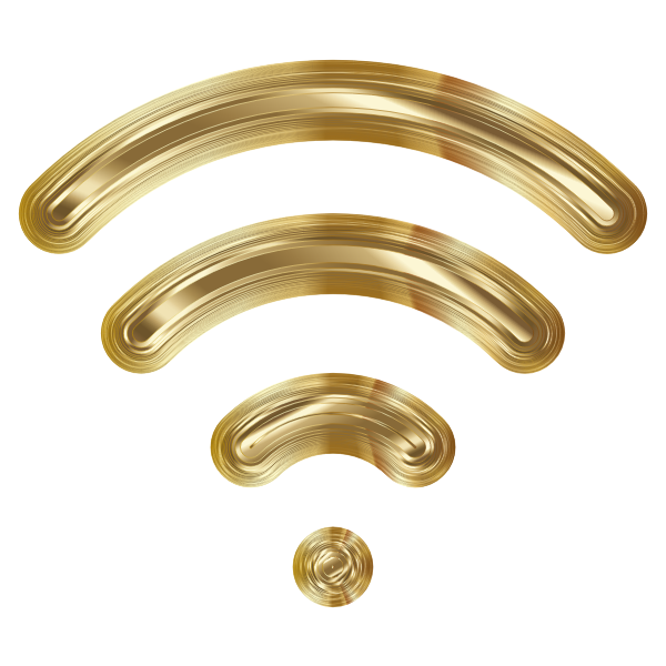 Wireless Signal Icon Enhanced 7 Variation 3