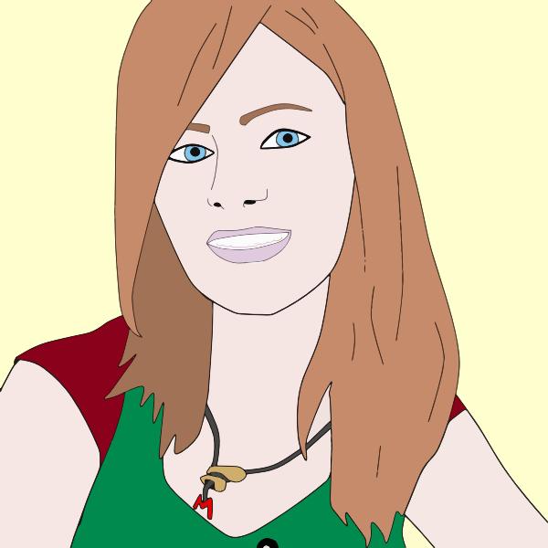 Woman's portrait image
