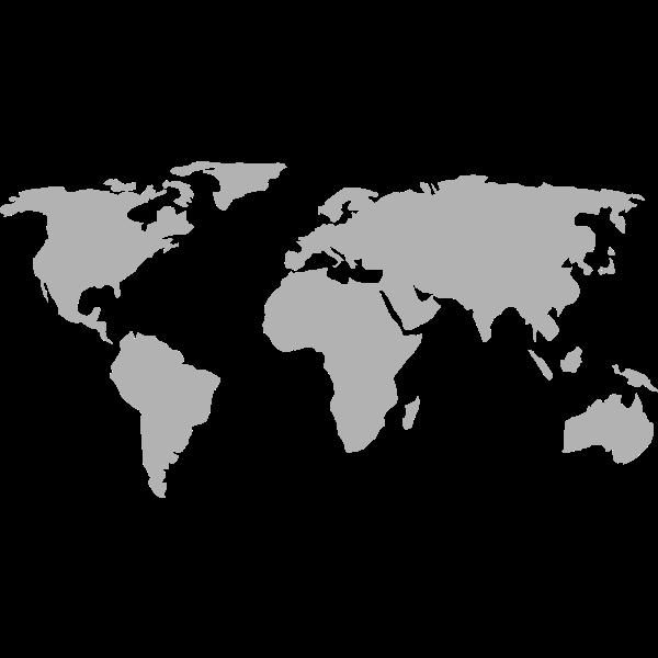 World Map w japan