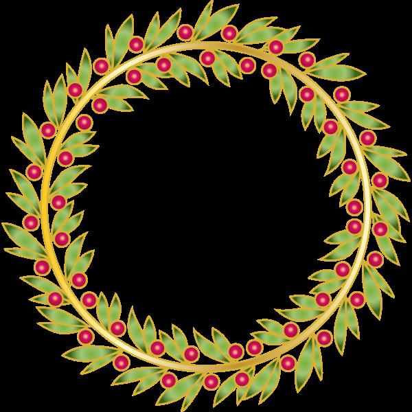 Wreath floral decoration