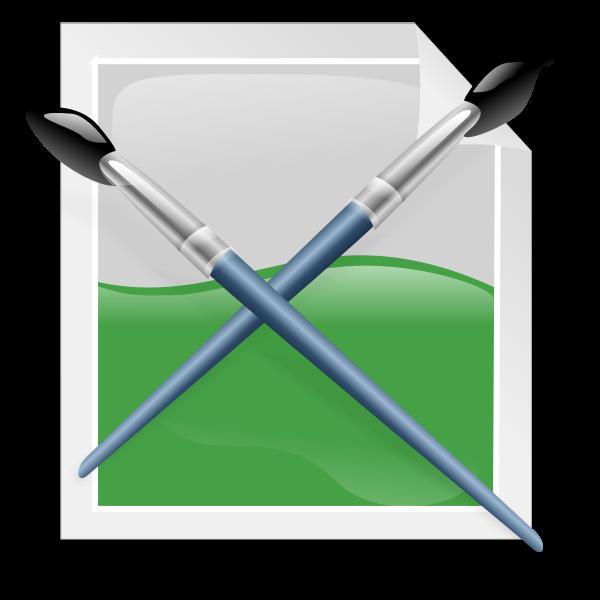 XCF symbol vector graphics
