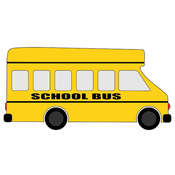 Yellow school bus | Free SVG