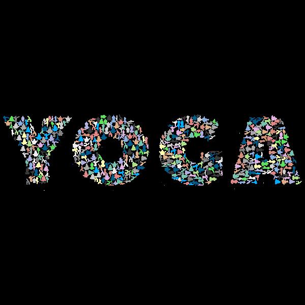Yoga Typography No Background