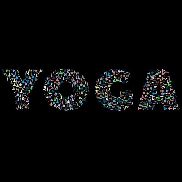 Yoga Typography