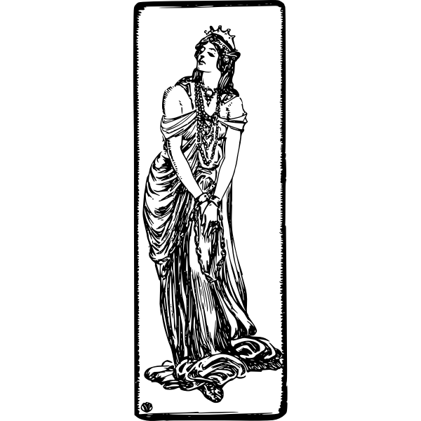 Zenobia vector image