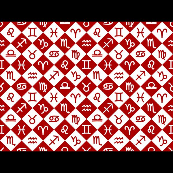 Zodiac sign background