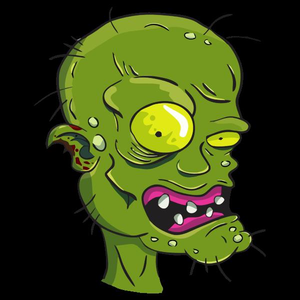 Zombie's head