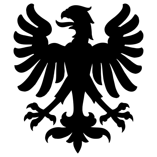 Zurich Eagle Silhouette