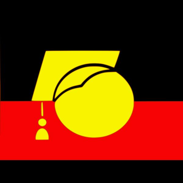 Aboriginal education vector illustration
