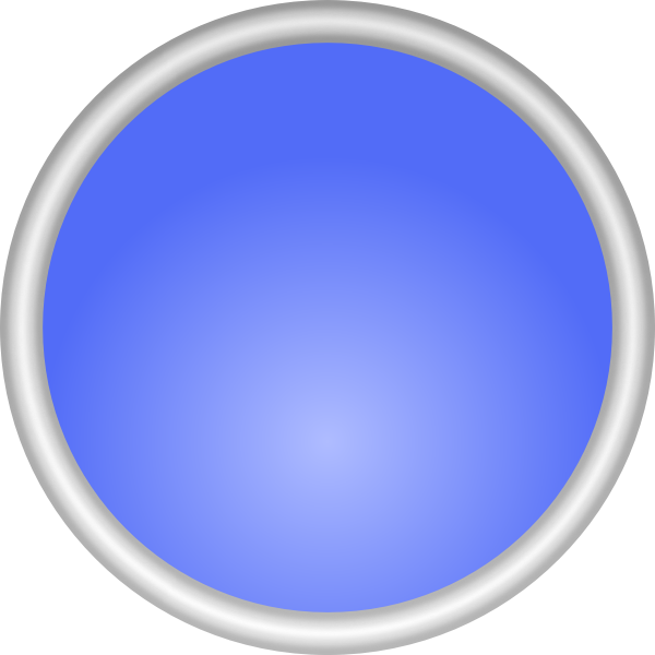 Color shiny button vector image