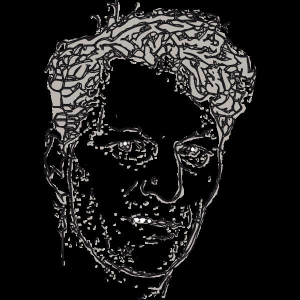 Man S Sketch Free Svg