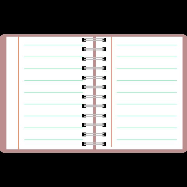 Agenda vector image
