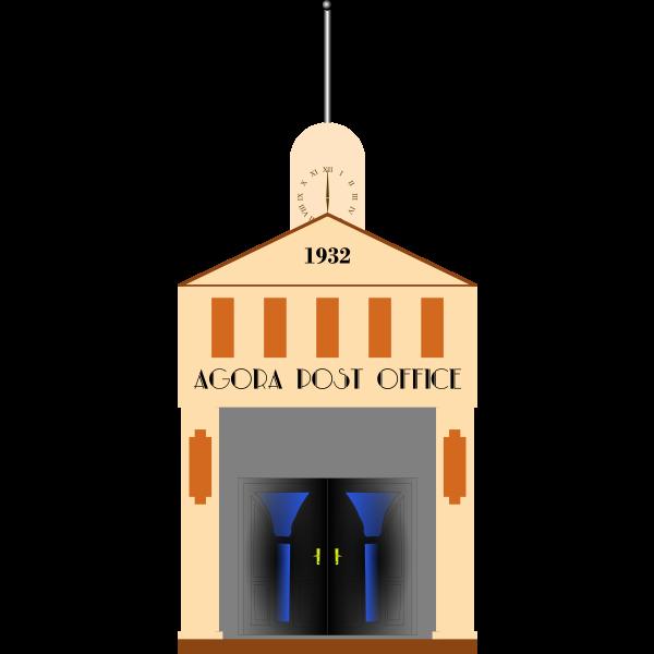 agora post office facade