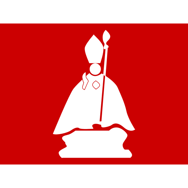 Pope vector icon