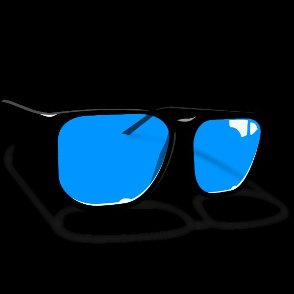 Sunglasses vector drawing