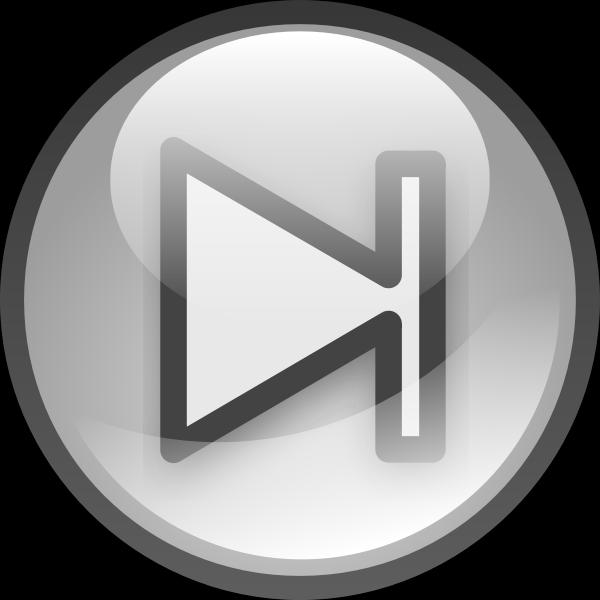 Audio button vector illustration