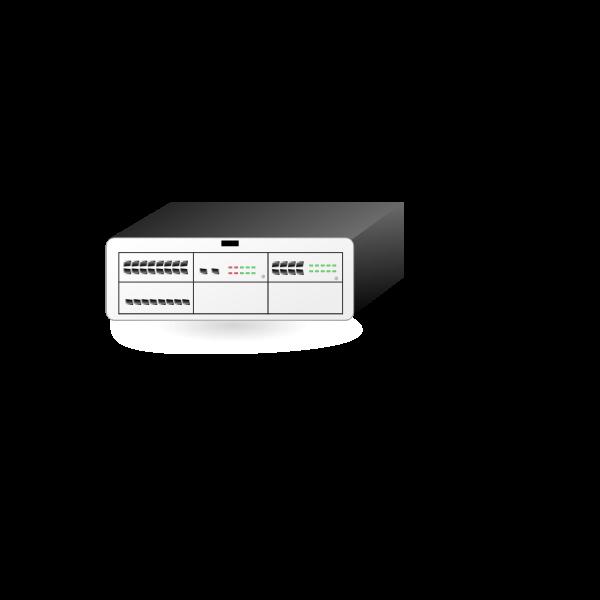 Alcatel switch vector clip art