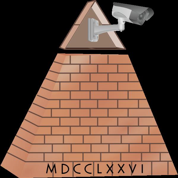 All Seeing Eye camera pyramid