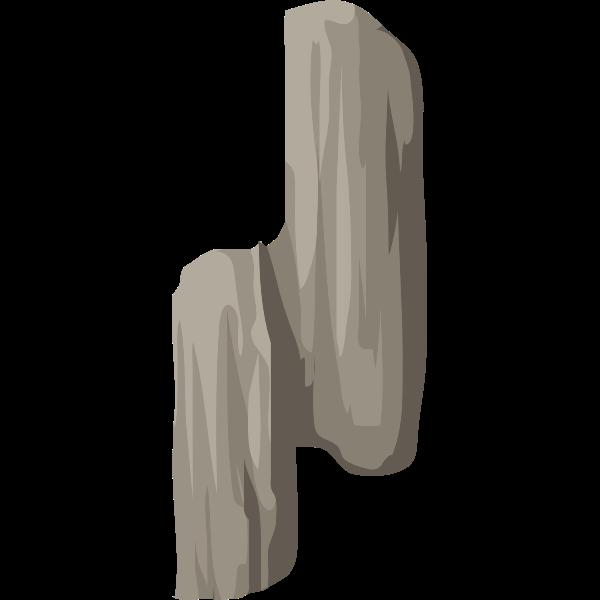 alpine landscape cliff face bandaid 02b