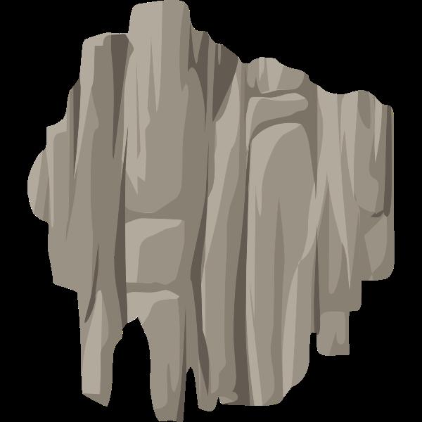 alpine landscape cliff face bandaid topper 01a al1