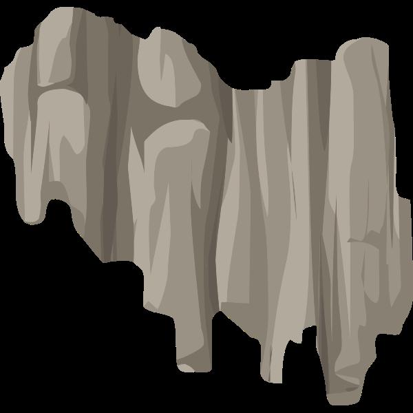 alpine landscape cliff face bandaid topper 01b al1
