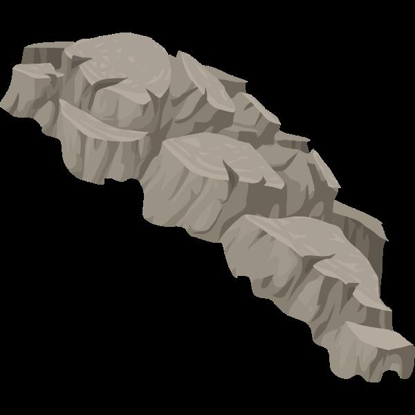 alpine landscape cliff face bg topper 01b al1